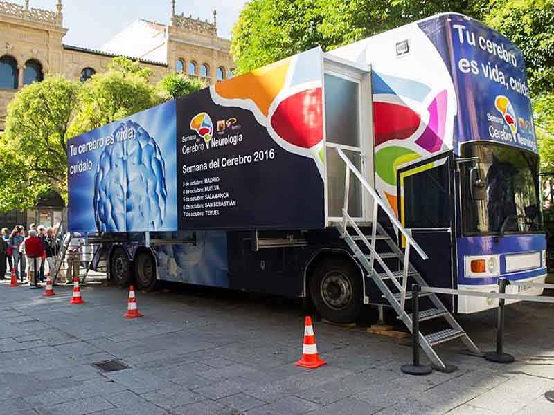 oficina movil para roadshows