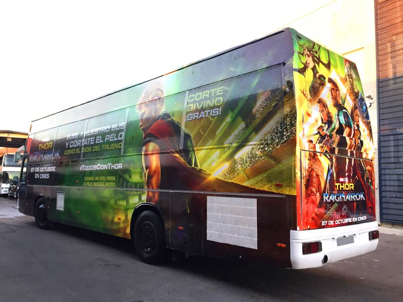 bus marvel disney thor