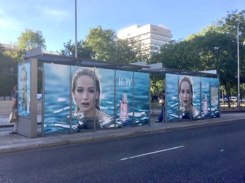 marquesinas publicitarias jennifer lawrence