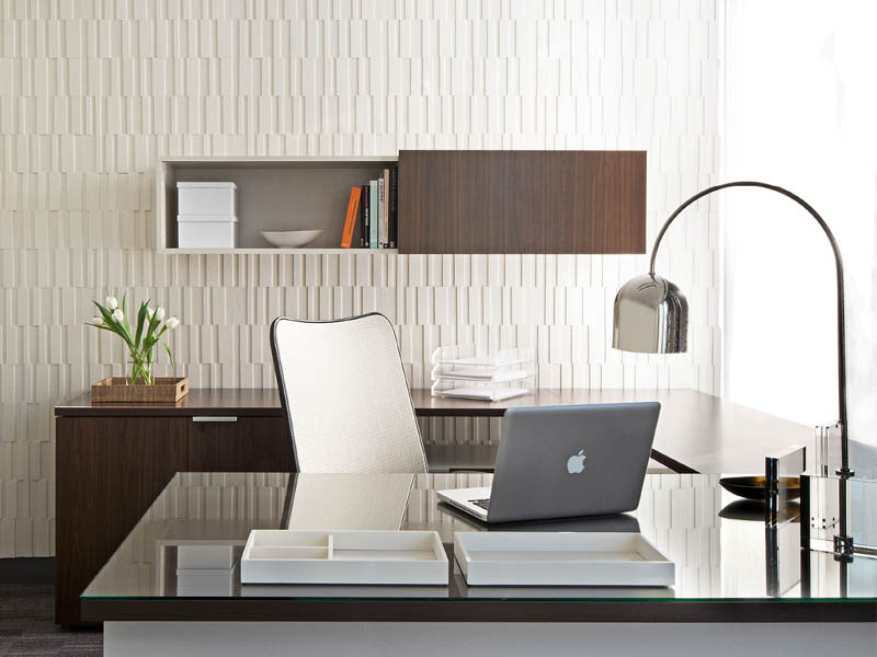 Decoración de oficinas con wallcovering