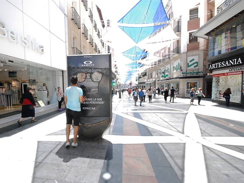 producción gráfica de street marketing