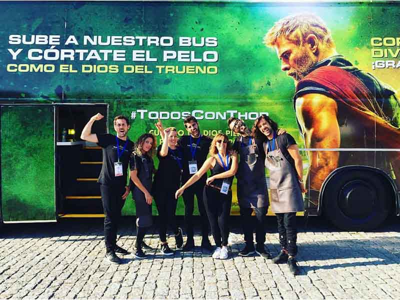 bus thor disney rotulacion