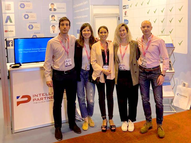 stand intelligence partner en digital business world congress