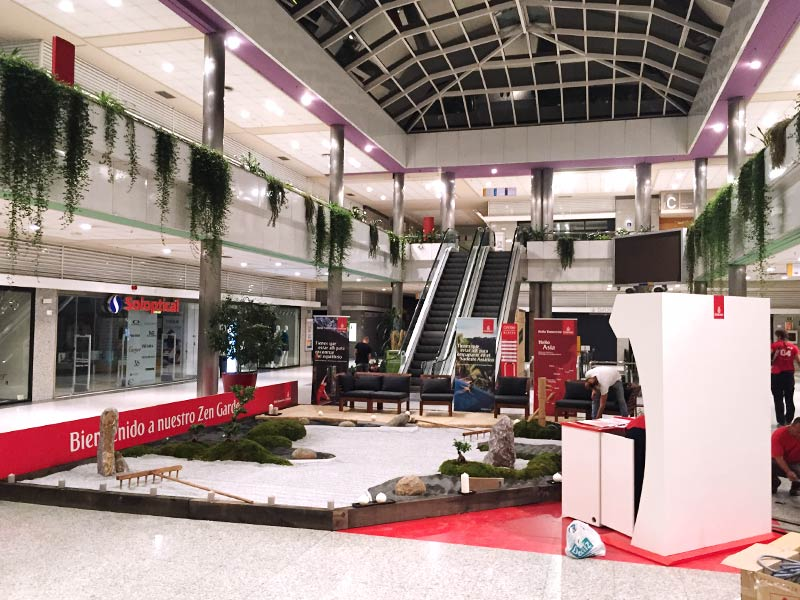 jardin zen fly emirates stand centro comercial
