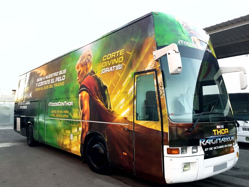 roadshow bus thor