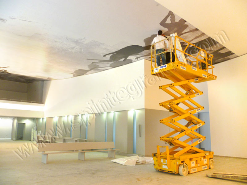 Grupo spi decoraci n y rotulaci n de interior vinilos - Vinilos para techos ...