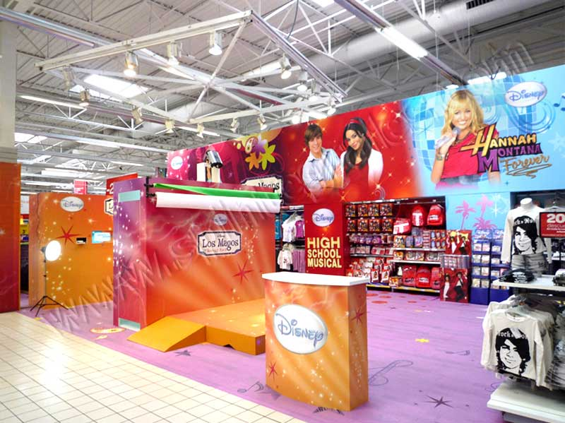pop up, display, mostradores para centros comerciales