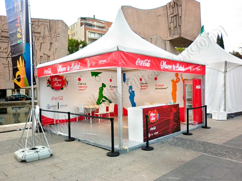 stand cocacola madrid