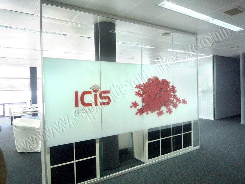 SPI. Rotulación decorativa, cartelería y vinilos para oficinas